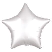 Satin Luxe White Star Foil Balloon