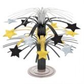 Metallic Star Mini Cascade Centrepiece