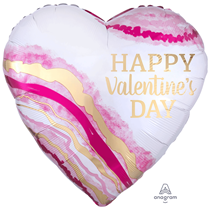 "Valentine's Watercolour 28"" Foil Balloon"