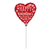 Happy Valentine's Day Mini Foil Balloon