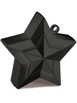 Black 5oz Star Balloon Weight