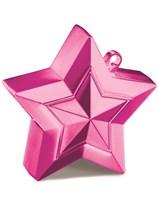 Magenta 5oz Star Balloon Weight