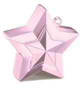 Pearl Light Pink 5oz Star Balloon Weight