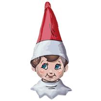 "Christmas Elf On The Shelf 38"" Foil Balloon"