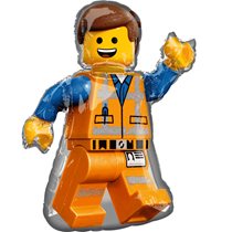 "Lego Movie Emmet 32"" Foil SuperShape Balloon"