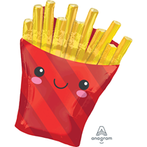 """French Fries 28"""" Foil Balloon"""