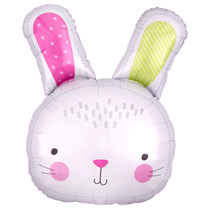 "Easter Hello Bunny 28"" Supershape Foil Balloon"