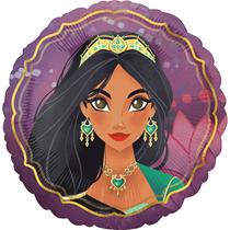 """Disney Aladdin & Jasmine 18"""" Foil Balloon"""