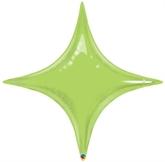 "Lime Green 40"" Starpoint Foil Balloon"