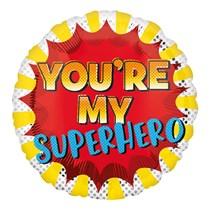 "You're My SuperHero 18"" Foil Balloon"