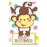 Fisher Price Baby Shower Invitations & Envelopes 8pk