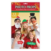 Christmas Photo Booth Prop Kit 13pce