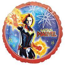 """Captain Marvel 18"""" Foil Balloon"""