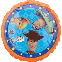 """Disney Toy Story 4 2-Sided 18"""" Foil Balloon"""