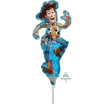 Disney Toy Story Woody Mini Air Fill Foil Balloon