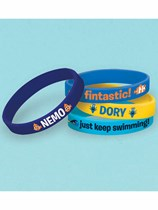 Finding Dory Rubber Bracelets 4pk