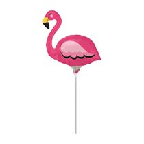 Flamingo Mini Shape Foil Balloon (Air Fill)