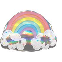 Rainbow Narwhal Unicorn SuperShape Balloon