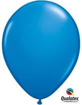 "11"" Dark Blue Latex Balloons - 25pk"