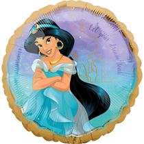 "Disney Princess Jasmine Aladdin 18"" Foil Balloon"