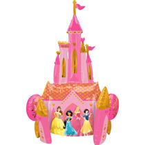 "Disney Princess Castle 55"" Airwalker Foil Balloon"