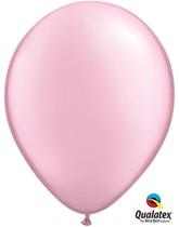"""11"""" Pink Pearl Latex Balloons - 25pk"""