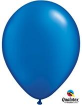"11"" Sapphire Blue Pearl Latex Balloons - 25pk"