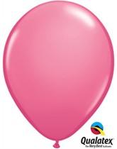 "11"" Rose Pink Latex Balloons - 25pk"