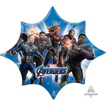 """Avengers Endgame 35"""" Supershape Foil Balloon"""