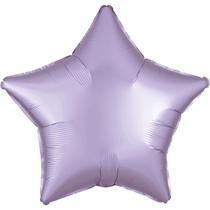 Satin Luxe Pastel Lilac Star Foil Balloon