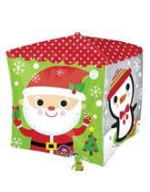 "Christmas Characters 15"" Cubez Foil Balloon"