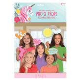 Magical Unicorn Photo Booth Props 12pce