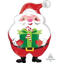 Christmas Santa Junior Shape Foil Balloon