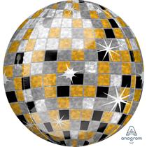 """Disco Ball 15"""" Orbz Foil Balloon"""