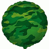 "Camouflage Print 18"" Foil Balloon"