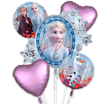 Disney's Frozen 2 Foil Balloons 5pce Bouquet