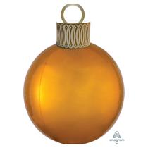 Christmas Gold Orbz Ornament Balloon Kit