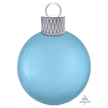 Christmas Pastel Blue Orbz Ornament Balloon Kit