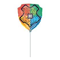 Harry Potter Hogwarts Crest Mini Shape Foil Balloon