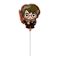Harry Potter With Wand Mini Shape Foil Balloon