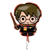 Harry Potter With Wand SuperShape Foil Balloon