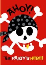 8 Pirate Fun Party Invitations