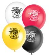 """8 Pirate Fun 12"""" Latex Balloons"""
