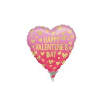 Valentine's Pink Ombre Mini Foil Balloon