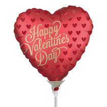 Valentine's Satin Infused Mini Shape Foil Balloon