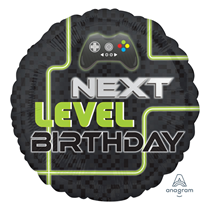 """Level Up Gaming 18"""" Foil Balloon"""