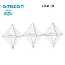 Anagram Anglez Rose Gold Trim diamond foil balloon