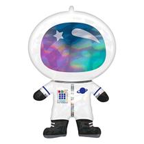 """Astronaut Holo Iridescent 30"""" Foil Balloon"""