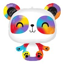 "Multi Coloured Panda 24"" Foil Balloon"