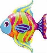 "Fish 43"" Supershape Foil Balloon"